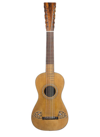 A Guitar attributed to Juan Pages, Cadiz (2)