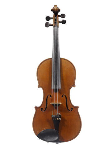 A French Violin attributed to Ch.J.B.Collin-Mezin, Paris  1907 (4)