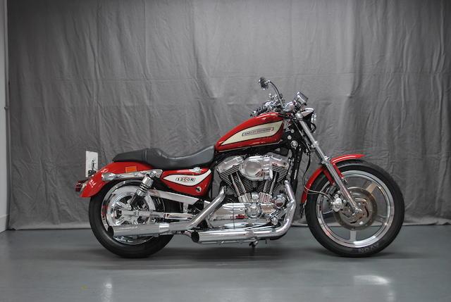 2004 Harley Davidson XL Sportster Frame no. 5HD1CLP104K438580