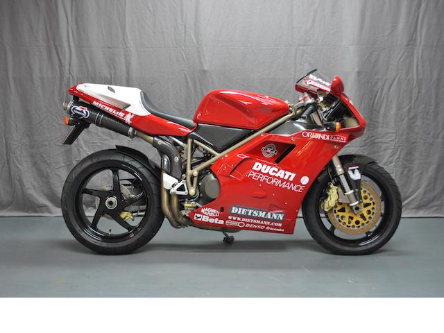 1994 Ducati Fogarty Replica Frame no. ZDMH100AAWB001719