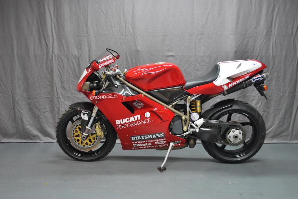 2000 Ducati 916SPS 'Fogarty Replica' Frame no. ZDMH100AAWB001719 Engine no. 001871