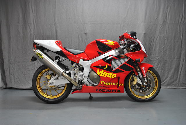Joey Dunlop Commemorative,2002 Honda VTR1000R SP-1 Frame no. JH25C45A0YM004103