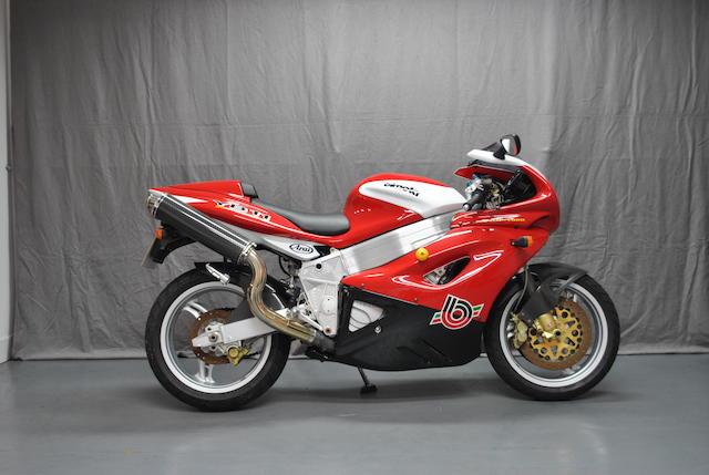 1998 Bimota YB11 Frame no. ZESYB1100TR000296