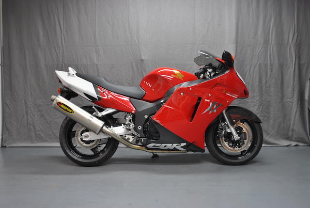 Number '01' of the series, 9 miles from new,1999 Honda CBR1200XX Super Blackbird Limited Edition  Frame no. JH2SC35A8WM109883 Engine no. SC35E3004968