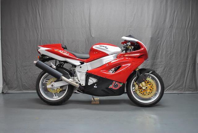 2005 Bimota 1,002cc YB11 Frame no. ZESYB1100VR000519