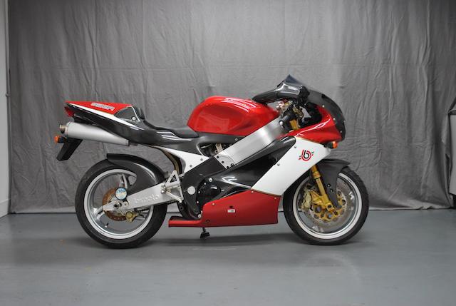 2002 Bimota SB8R Frame no. ZEOSB8R00XR000152
