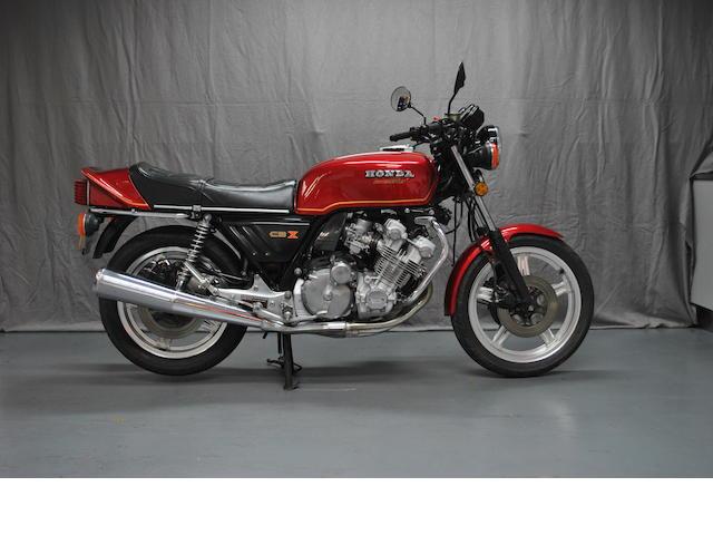 1978 Honda CBX1000Z Frame no. CB1 2005372