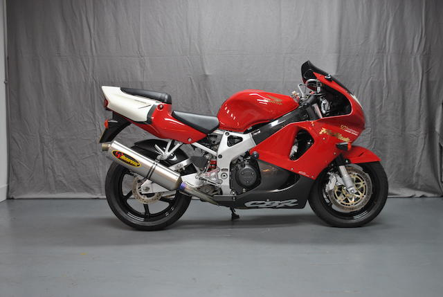 1998 Honda CBR Fireblade Frame no. JH25C33A4WM208025