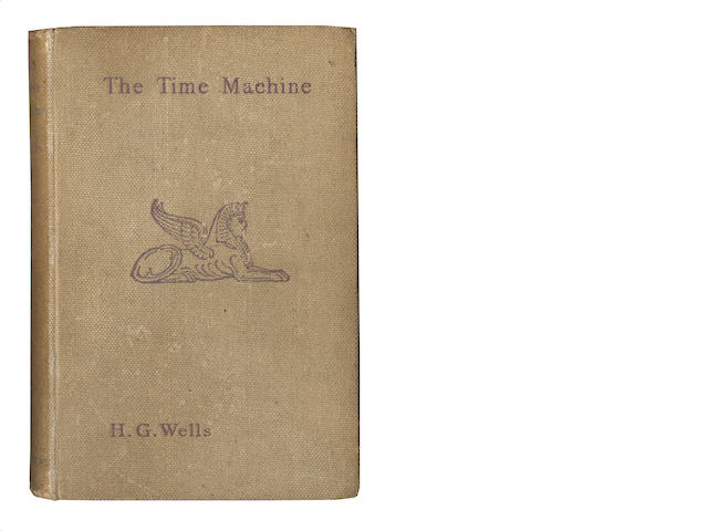 WELLS (H.G.) The Time Machine. An Invention, FIRST EDITION, first issue binding, 1895