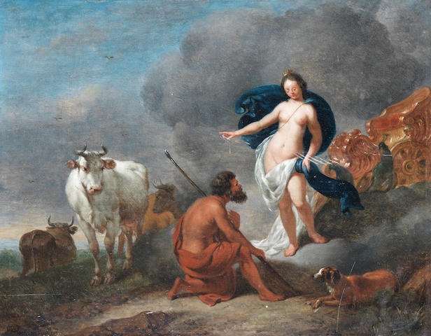 Dutch School, 17th Century Hera, Io and Panopte