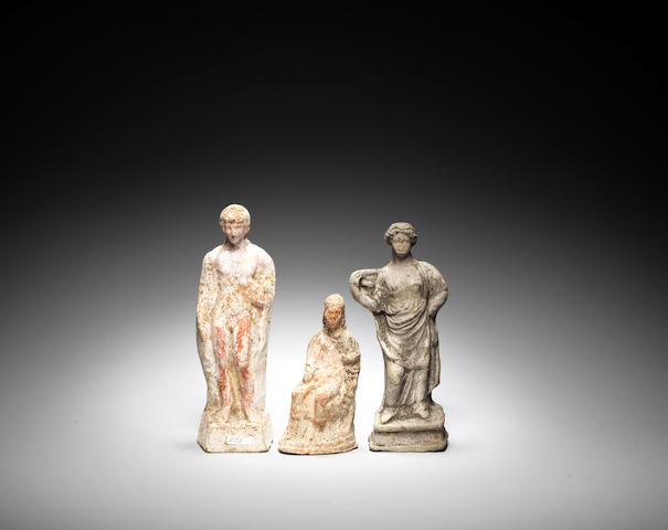 Three Classical terracottas
