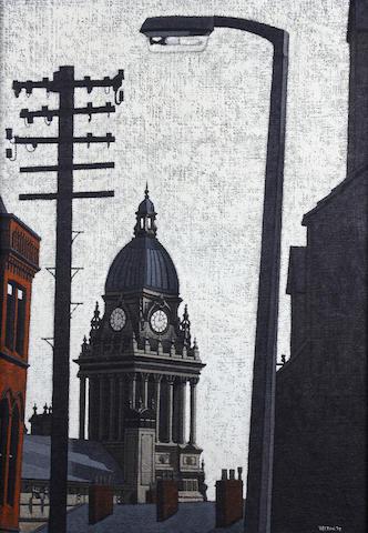 Stuart Walton (British, born Leeds 1934) Leeds Town Hall