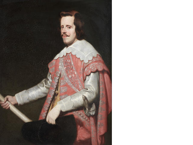 After Diego Rodríguez de Silva y Velázquez Portrait of King Philip IV of Spain, three-quarter length
