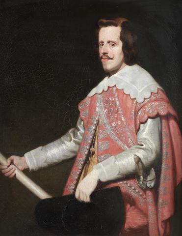 After Diego Rodríguez de Silva y Velázquez Portrait of King Philip IV of Spain, three-quarter length