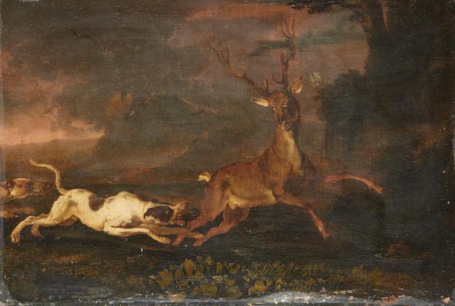 Abraham Danielsz. Hondius (Rotterdam circa 1631-1691 London) A stag hunt