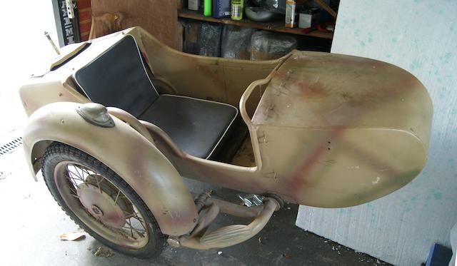 A Dnepr sidecar,