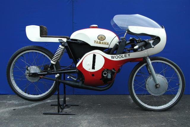 Ex Brian Woolley 1966 Yamaha 50cc YS-1 Race bike