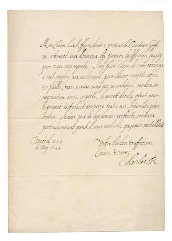 Charles I - Ls
