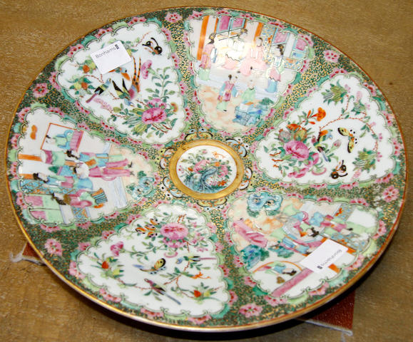 A 19th Century Chinese famille rose charger,