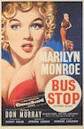 A Marilyn Monroe bus stop poster