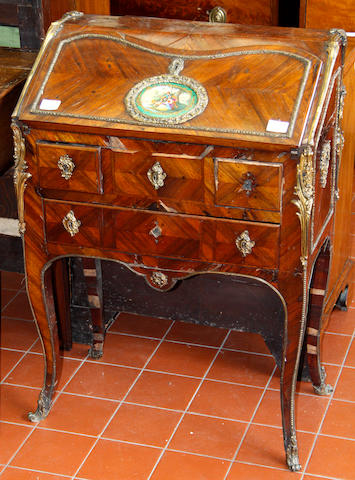A French kingwood bureau de dames in the Louis XV style