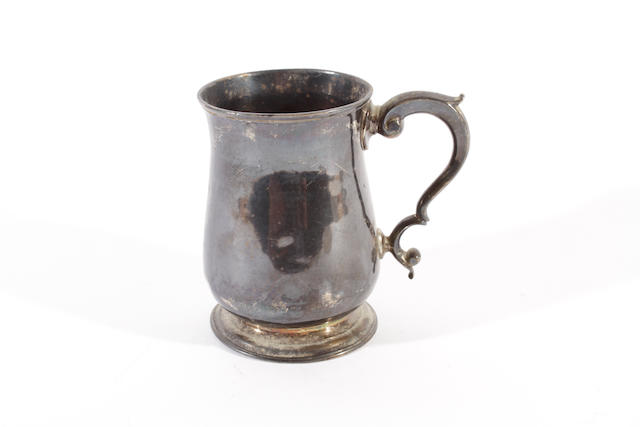 A George III silver mug by Cooke II and Gurney, London 1761
