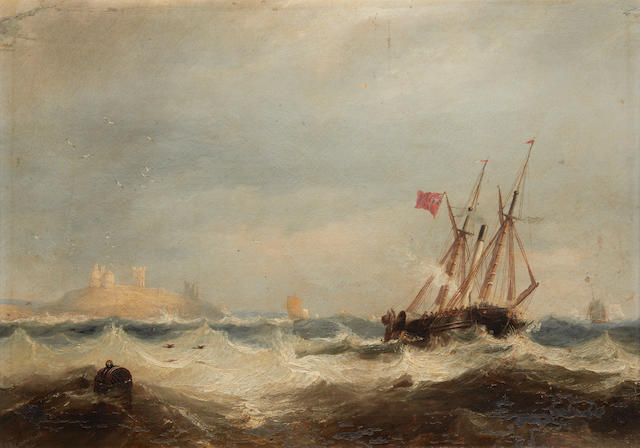 John Wilson Carmichael (British, 1799-1868) From Sail to Steam
