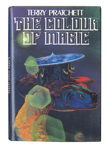 PRATCHETT (TERRY) The Colour of Magic, FIRST EDITION, INSCRIBED BY THE AUTHOR, 1983