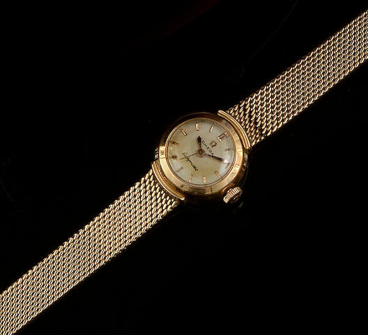 Omega: A ladymatic wristwatch