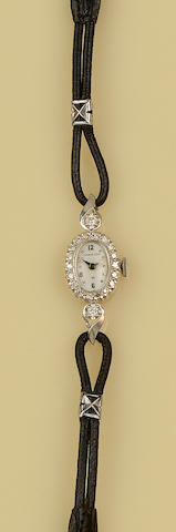 Hamilton: A diamond cocktail watch