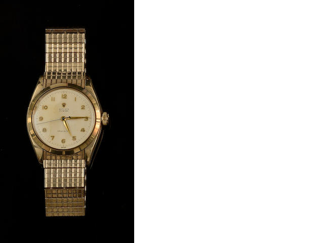 Rolex: A gentleman's Oyster watch head