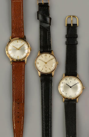 Three gentleman's wristwatches, (3)
