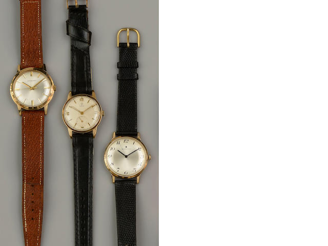 Three gentleman's wristwatches (3)