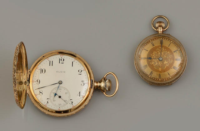 Two pocket watches (2)