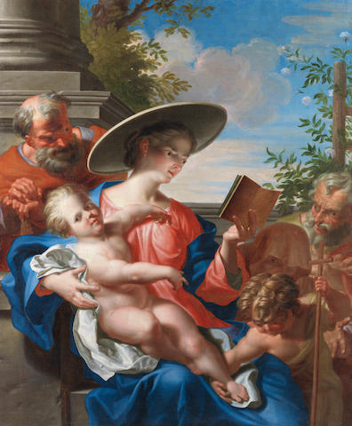 Abraham Godyn (active Antwerp and Prague, circa 1679-circa 1724) The Rest on the Flight into Egypt unframed