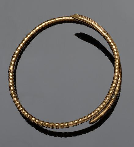 A serpent armlet
