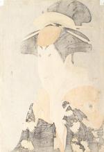 Toshusai Sharaku (fl.circa 1794-1795), late 18th century Segawa Tomisaburo II as Yadorigi