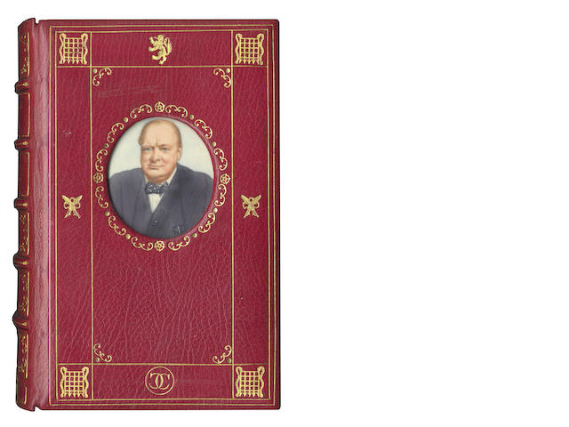 CHURCHILL (WINSTON S.) My Early Life, INSET PORTRAIT MINIATURE, 1930