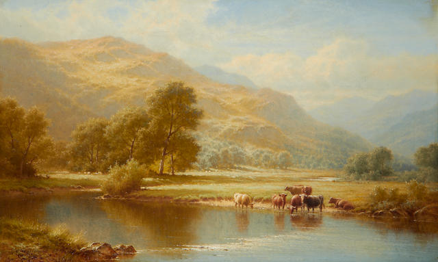 Walter J. Watson (British, born 1879) On the Glaslyn, North Wales