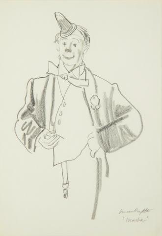 Dame Laura Knight R.A., R.W.S. (British, 1877-1970) Marba