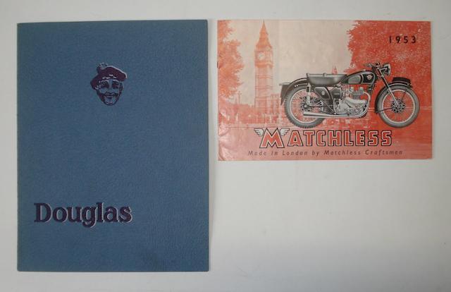A Douglas range brochure for 1935,