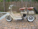 1951 Innocenti Lambretta 125cc Frame no. 125C-125520 Engine no. 125C-32238