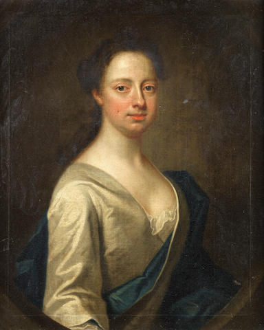 James Fellowes (active England, 1735-1751) Portrait of a lady