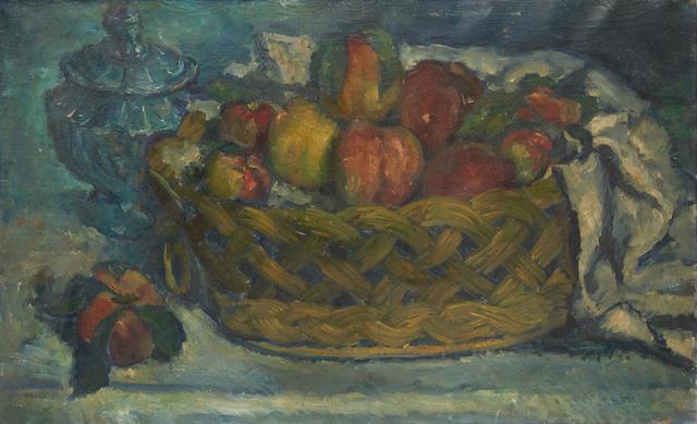 Leonardo Benatov (Russian, 1899-1972) Panier de peches