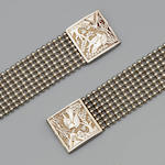 A pair of Chinese bracelets