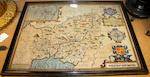John Speed (British, 1552-1629): Caermarden & Cardiganshyre