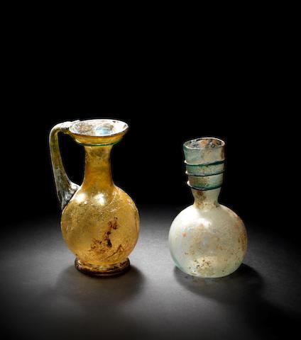 Two Roman glass vessels 2
