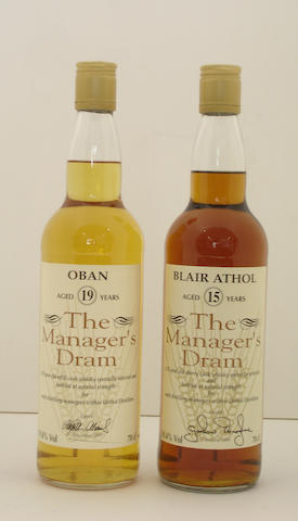 Oban-19 year old<BR /> Blair Athol-15 year old