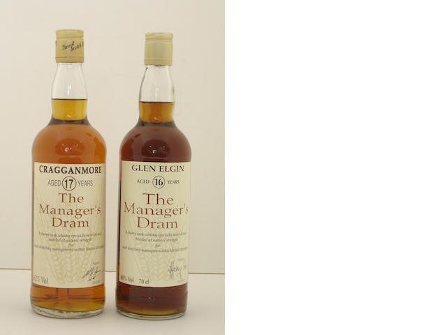 Cragganmore-17 year old<BR /> Glen Elgin-16 year old