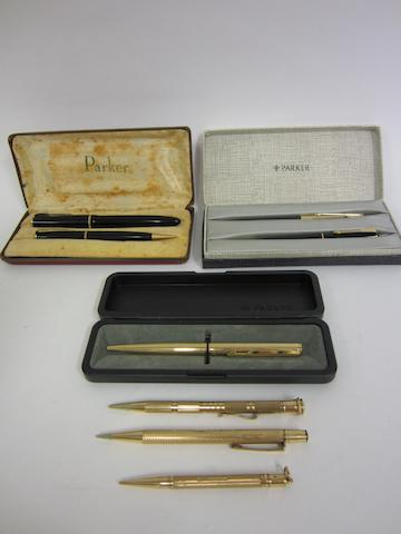 A 9ct gold Samuel Mordan Everpoint pencil London 1937